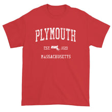 Vintage Plymouth Massachusetts MA T-Shirt Adult