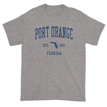 Vintage Port Orange Florida FL T-Shirt Adult (Navy Print)
