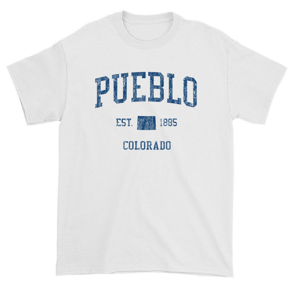 Vintage Pueblo Colorado CO T-Shirts Red Print