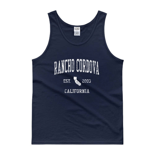 Vintage Rancho Cordova California CA Tank Top Adult