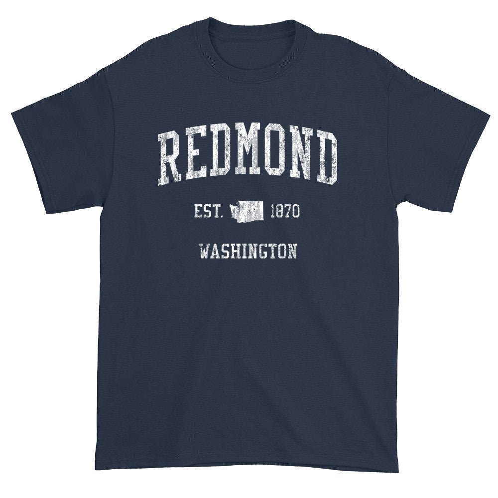Vintage Redmond Washington WA T-Shirts