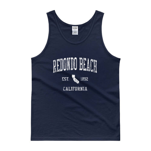 Vintage Redondo Beach California CA Tank Top Adult