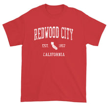 Vintage Redwood City California CA T-Shirt Adult