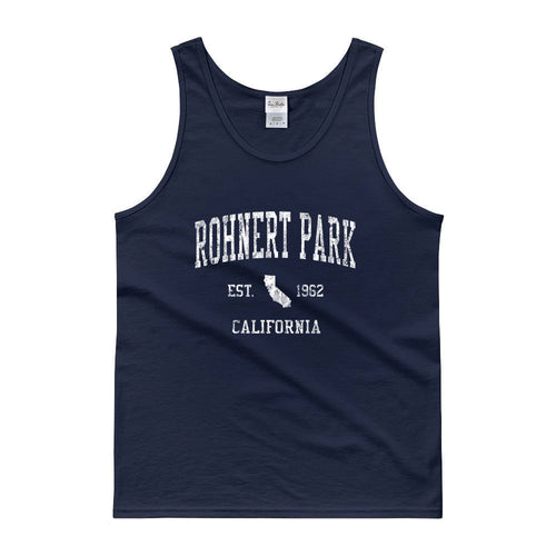 Vintage Rohnert Park California CA Tank Top Adult