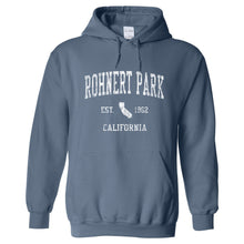 Rohnert Park California CA Hoodie Vintage Sports Design - Adult (Unisex)