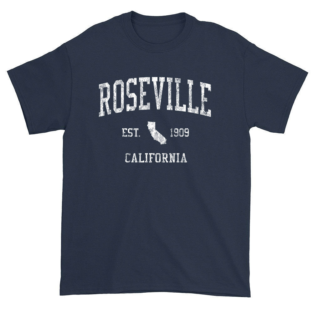 Vintage Roseville California CA T-Shirts