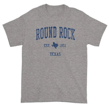Vintage Round Rock Texas TX T-Shirt Adult (Navy Print)
