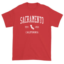 Vintage Sacramento California CA T-Shirt Adult