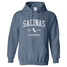 Salinas California CA Hoodie Vintage Sports Design - Adult (Unisex)