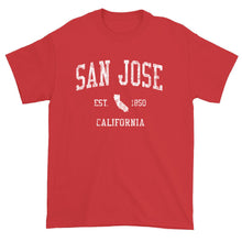 Vintage San Jose California CA T-Shirt Adult