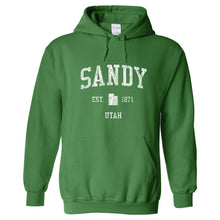 Sandy Utah UT Hoodie Vintage Sports Design - Adult (Unisex)