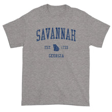 Vintage Savannah Georgia GA T-Shirt Adult (Navy Print)