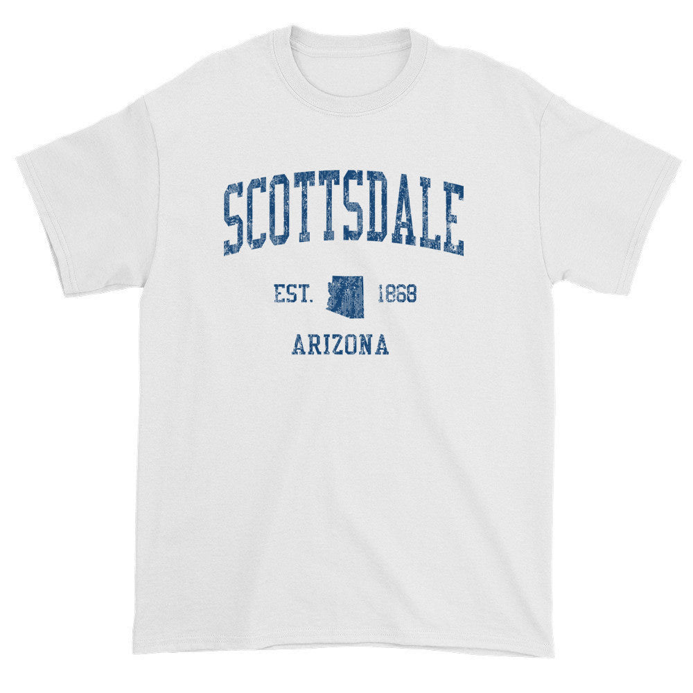 Vintage Scottsdale Arizona AZ T-Shirts Red Print