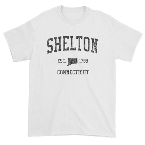 Vintage Shelton Connecticut CT T-Shirts Red Print
