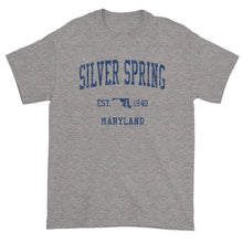 Vintage Silver Spring Maryland MD T-Shirt Adult (Navy Print)