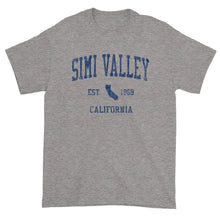 Vintage Simi Valley California CA T-Shirt Adult (Navy Print)