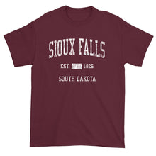 Vintage Sioux Falls South Dakota SD T-Shirt Adult