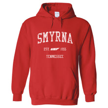 Smyrna Tennessee TN Hoodie Vintage Sports Design - Adult (Unisex)