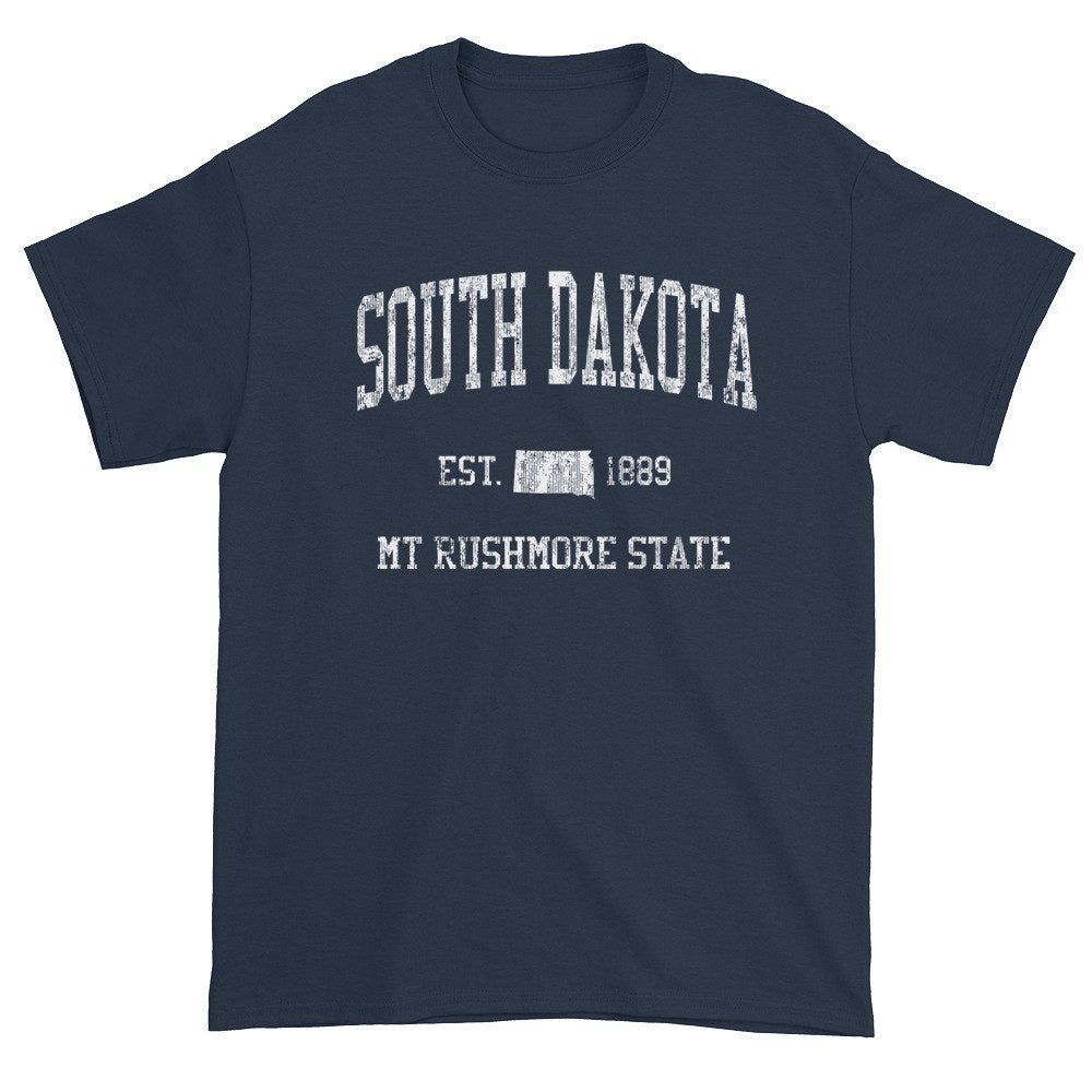 Vintage South Dakota SD T-Shirt Adult - JimShorts