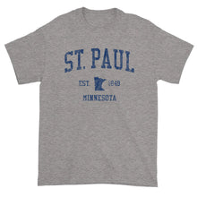 Vintage St Paul Minnesota MN T-Shirt Adult (Navy Print)