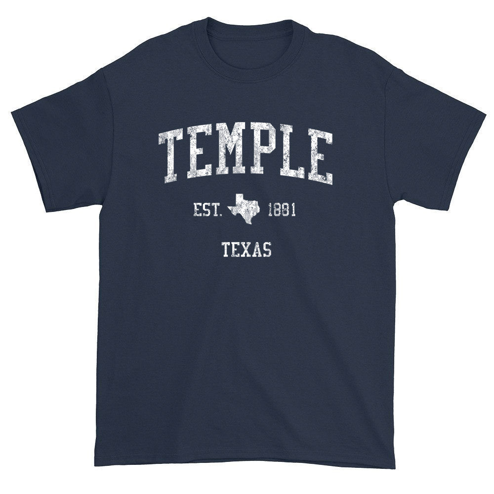 Vintage Temple Texas TX T-Shirts