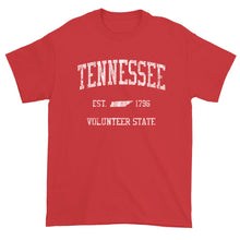 Vintage Tennessee T-Shirt Sports Design Heavy Cotton Adult Tee