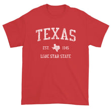 Vintage Texas T-Shirt Sports Design Heavy Cotton Adult Tee