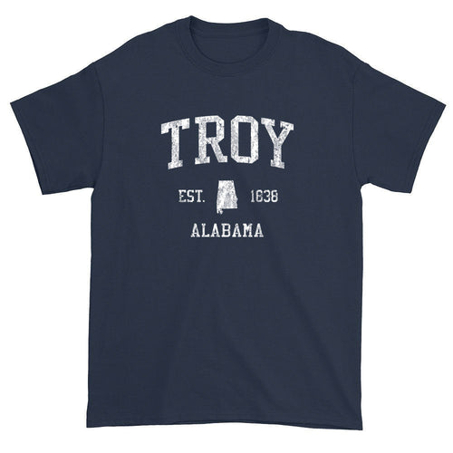 Vintage Troy Alabama AL T-Shirts