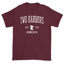 Vintage Two Harbors Minnesota MN T-Shirt Adult
