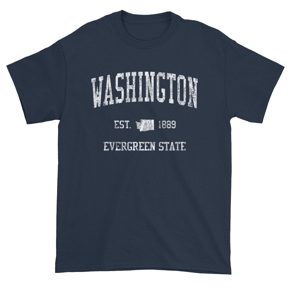 Vintage Washington WA T-Shirt Adult - JimShorts