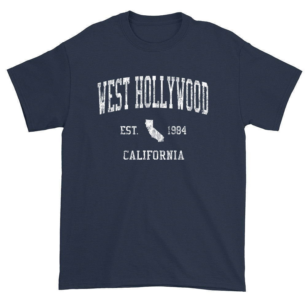 Vintage West Hollywood California CA T-Shirts