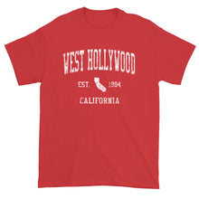 Vintage West Hollywood California CA T-Shirt Adult