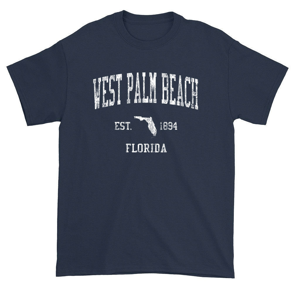 Vintage West Palm Beach Florida FL T-Shirts