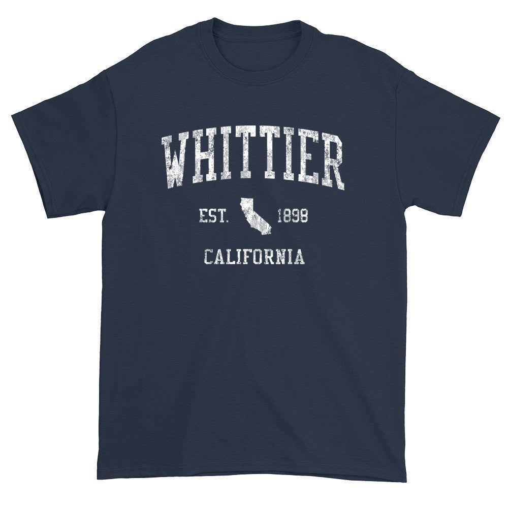Vintage Whittier California CA T-Shirts