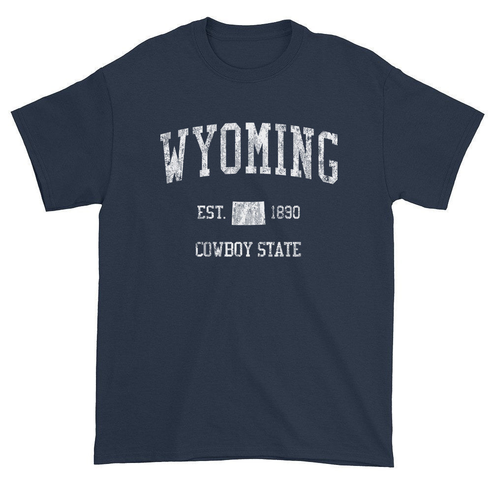 Vintage Wyoming WY T-Shirt Adult - JimShorts