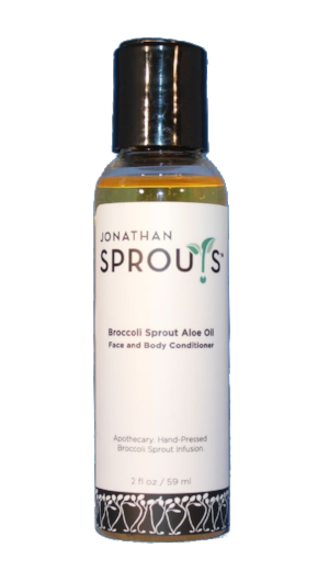 Broccoli Sprout Aloe Oil 2oz