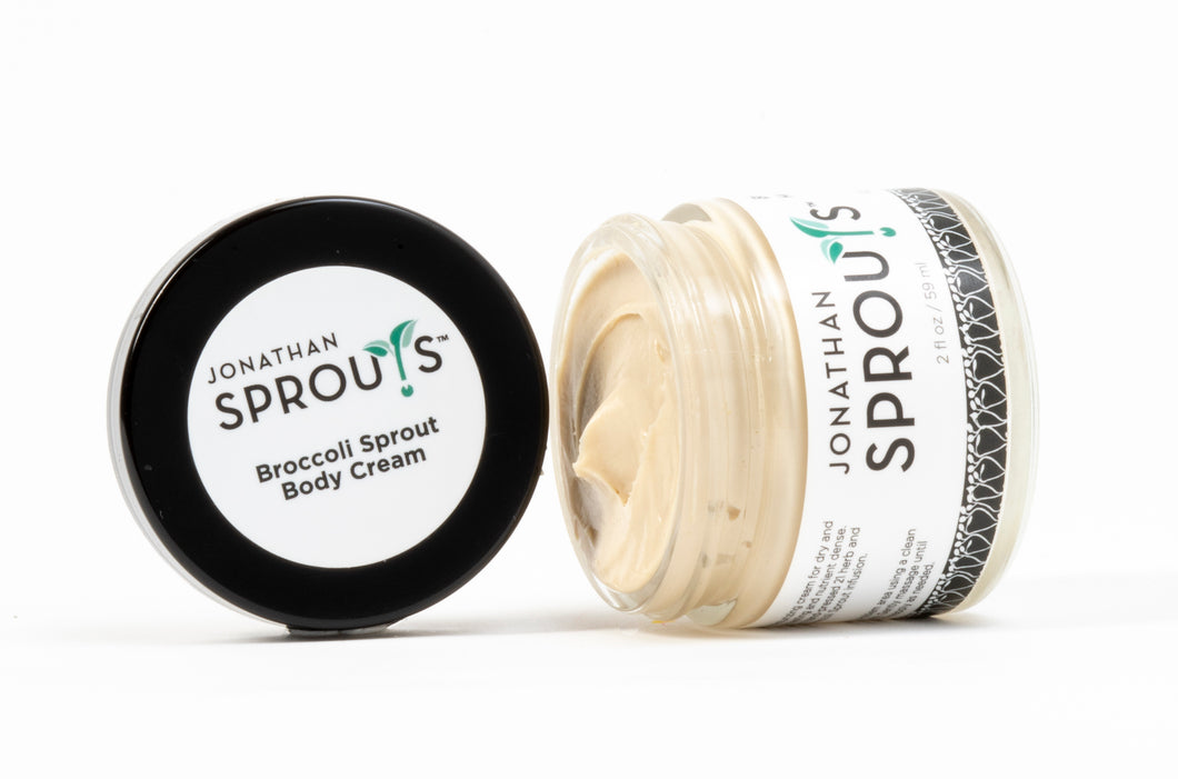 Broccoli Sprout Therapy Body Cream 2oz