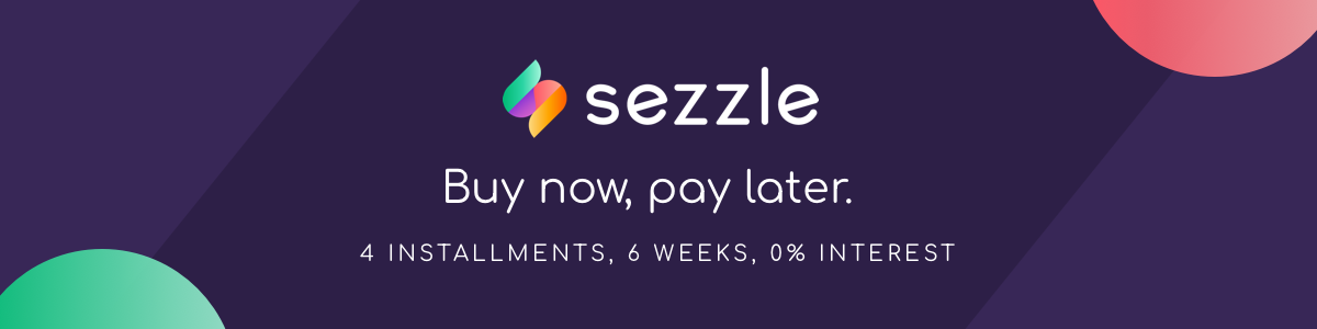 Buy now, pay later with Sezzle