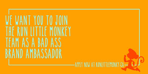 Become a 2020 Run Little Monkey Brand Ambassador