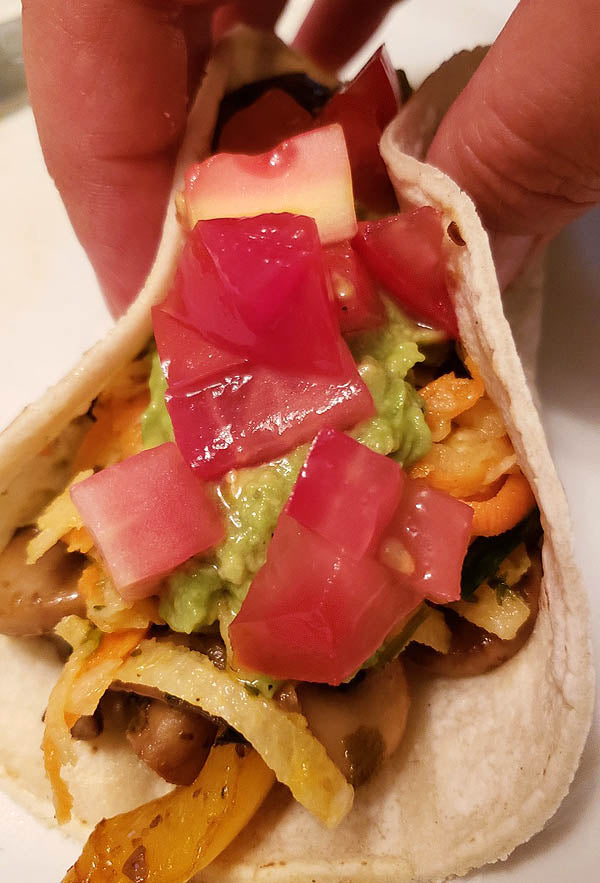 Taco Tuesday takes off with Mushroom Tacos
