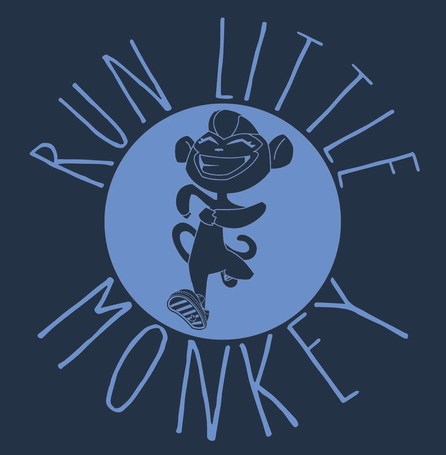 Monkey in the Round-Run Little Monkey