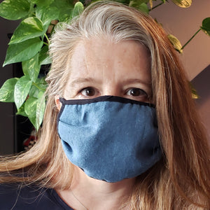 Hemp face mask-Run Little Monkey