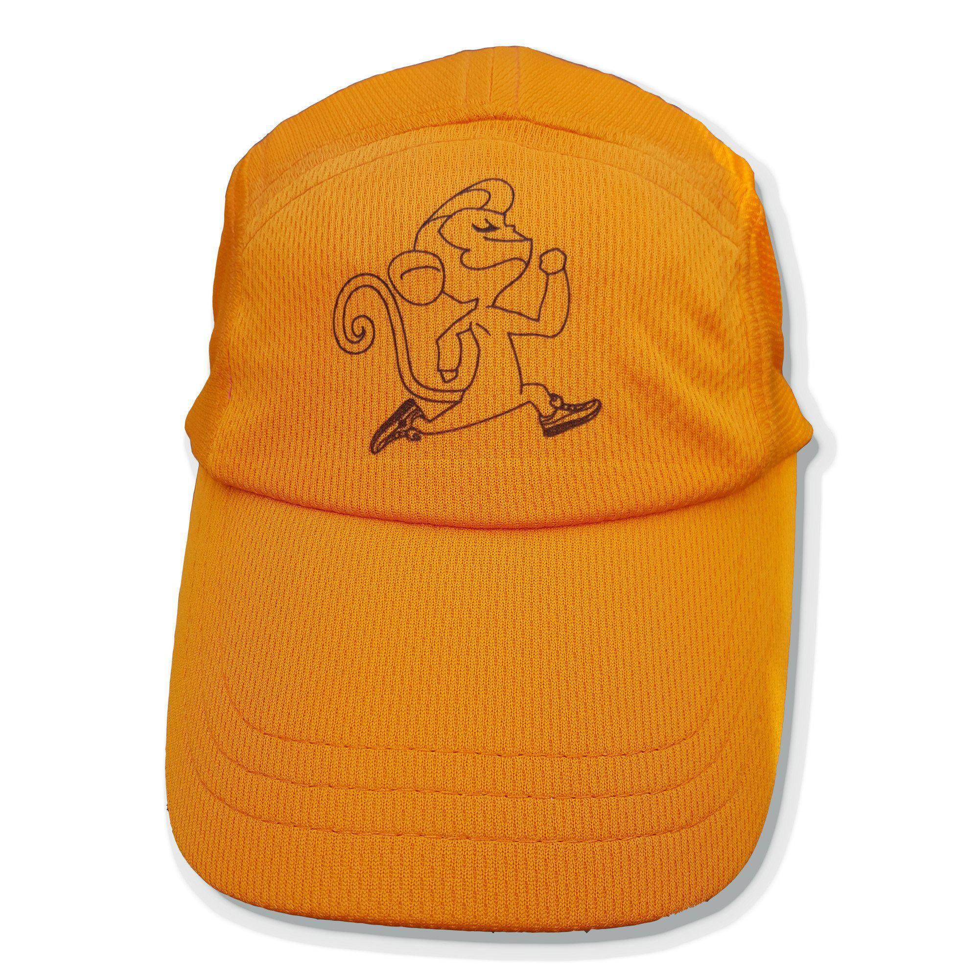monkey running hat