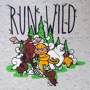 Run Wild kids T-Run Little Monkey