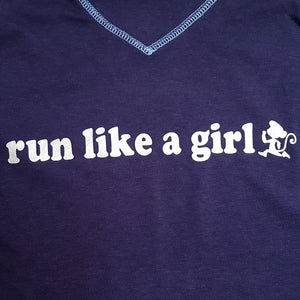 Run like a girl-Run Little Monkey