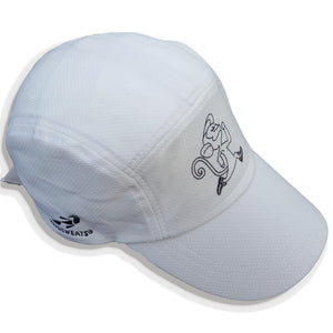 Run Little Monkey race cap-Run Little Monkey