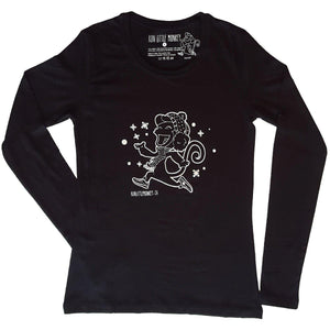 run little monkey bamboo running shirt winter front