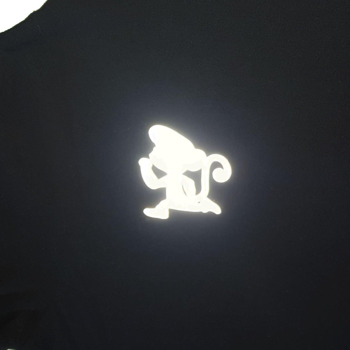 run little monkey bamboo running shirt winter reflective