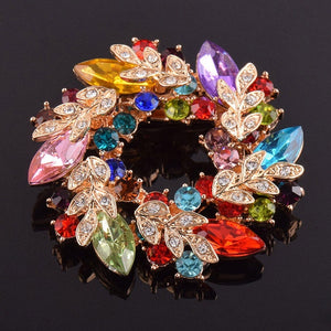 PRETTY FLOWER BROOCHE