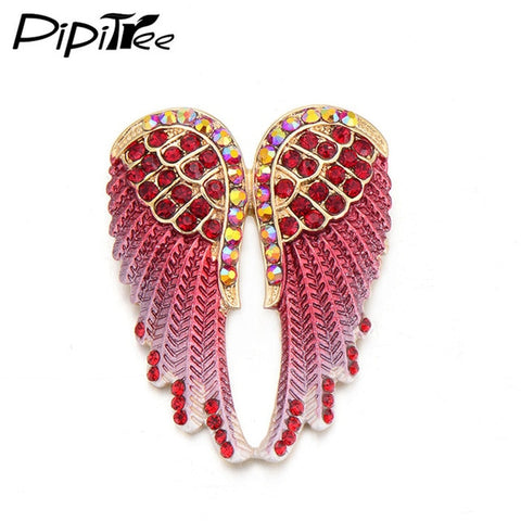 ANGEL WINGS BROOCH PIN